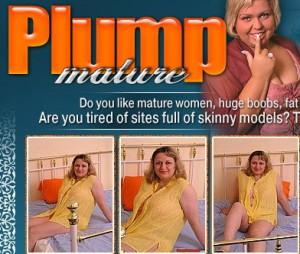 Cute fat lady